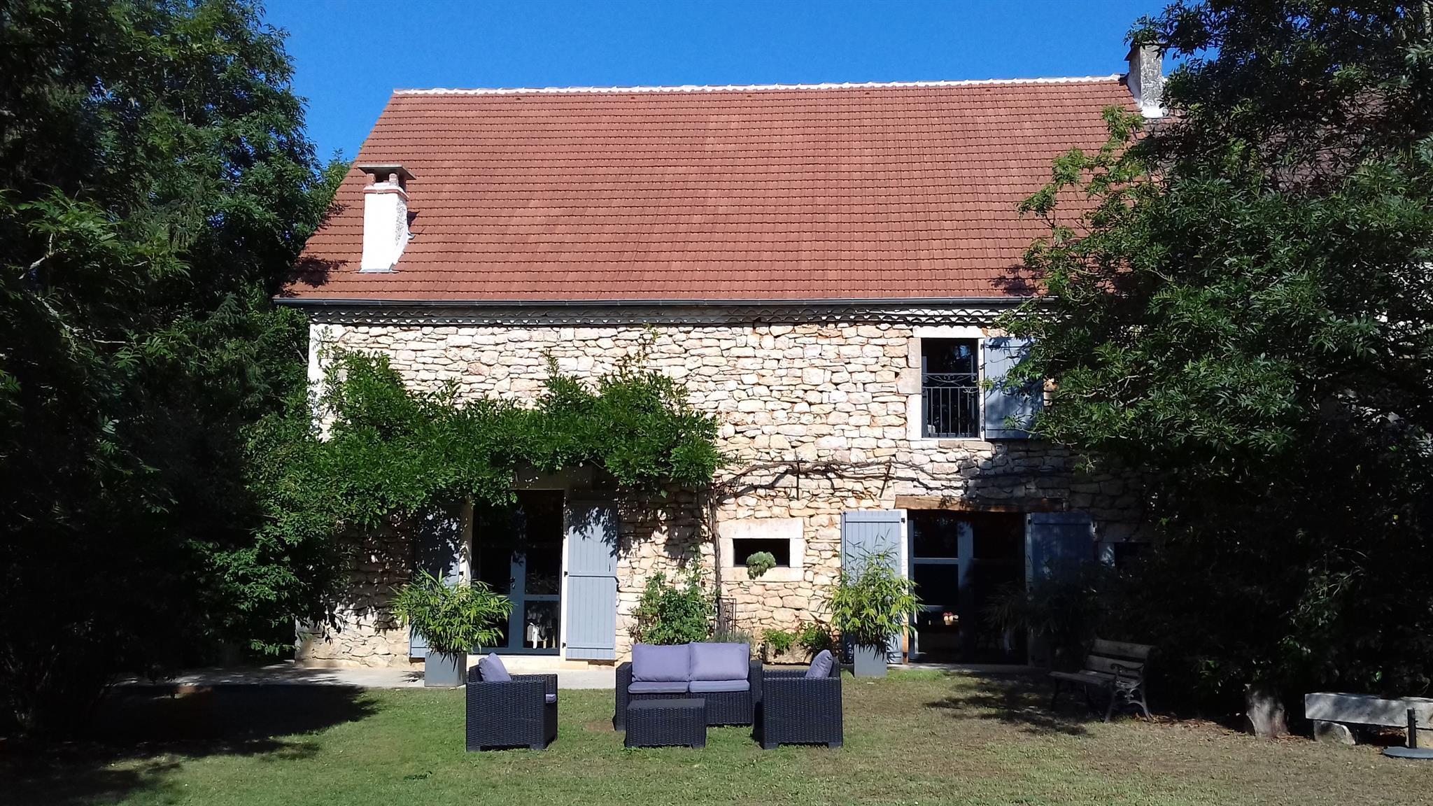 Le Balcon de Louise Ferienhaus, Etagendusche oder