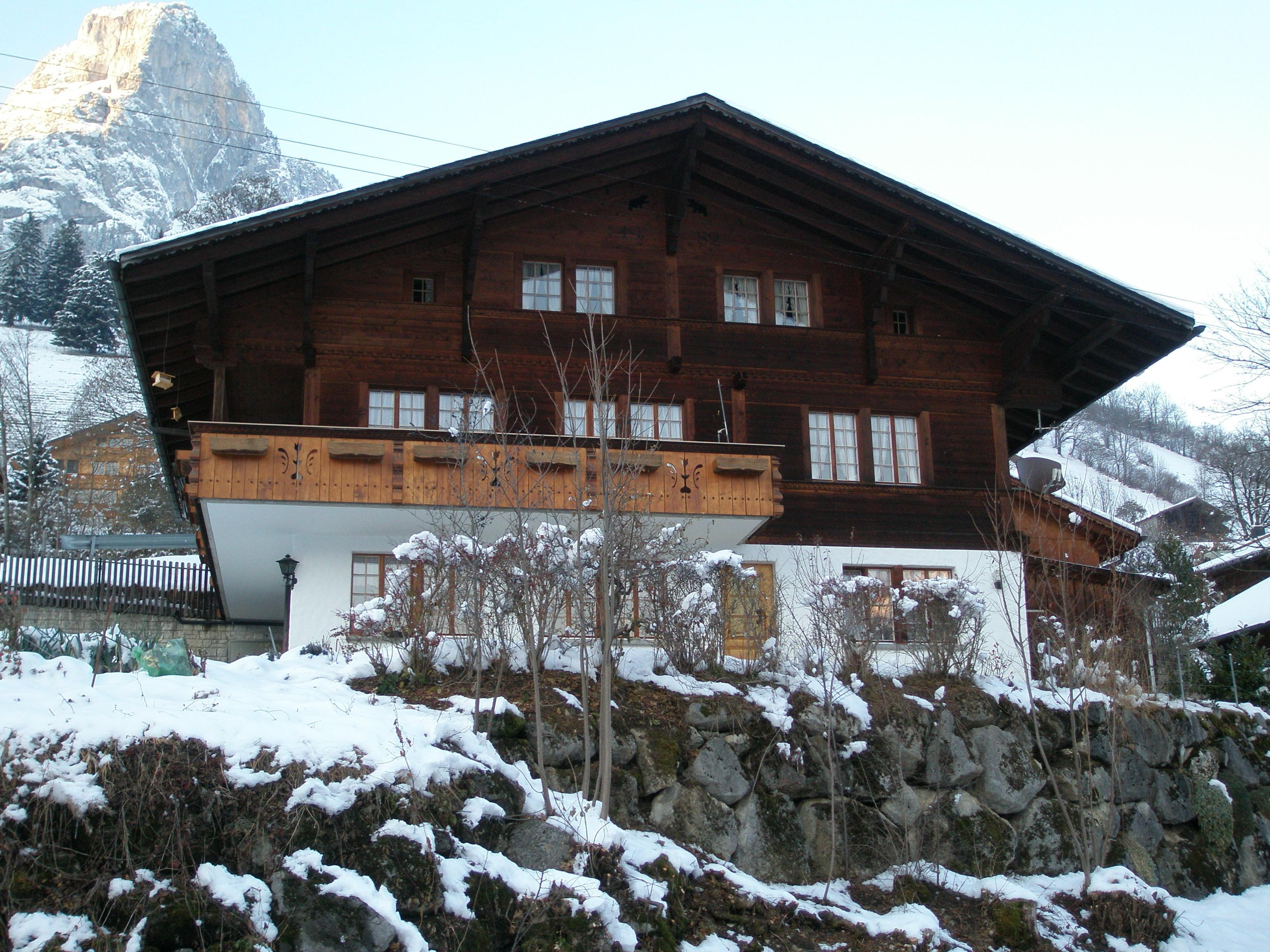 Appartement de vacances Steini 2-4-Bett-Wohnung (1964997), Boltigen, Vallée de la Simme, Oberland bernois, Suisse, image 3