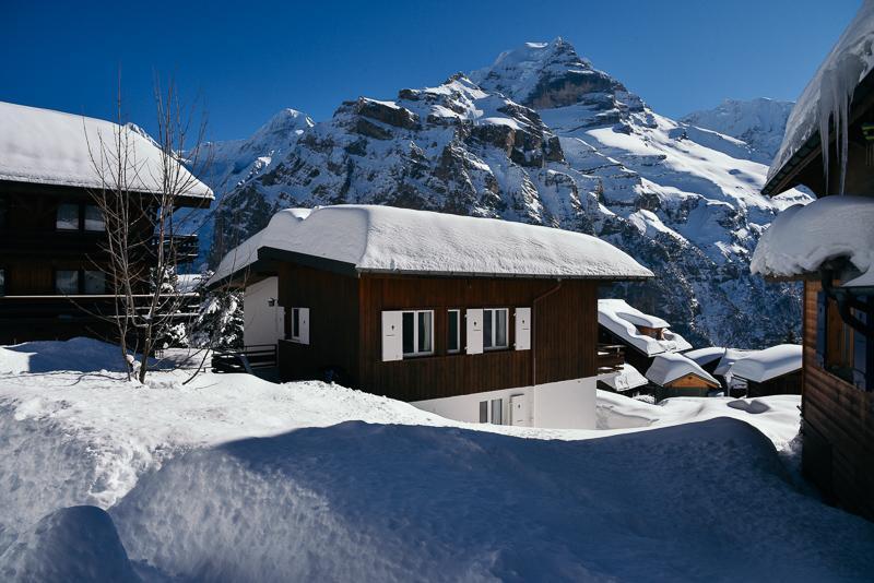 Appartement de vacances Chalet Arvenegg Appartement/Fewo, Bad, WC, 2 Schlafräume (2067684), Mürren, Région de la Jungfrau, Oberland bernois, Suisse, image 3