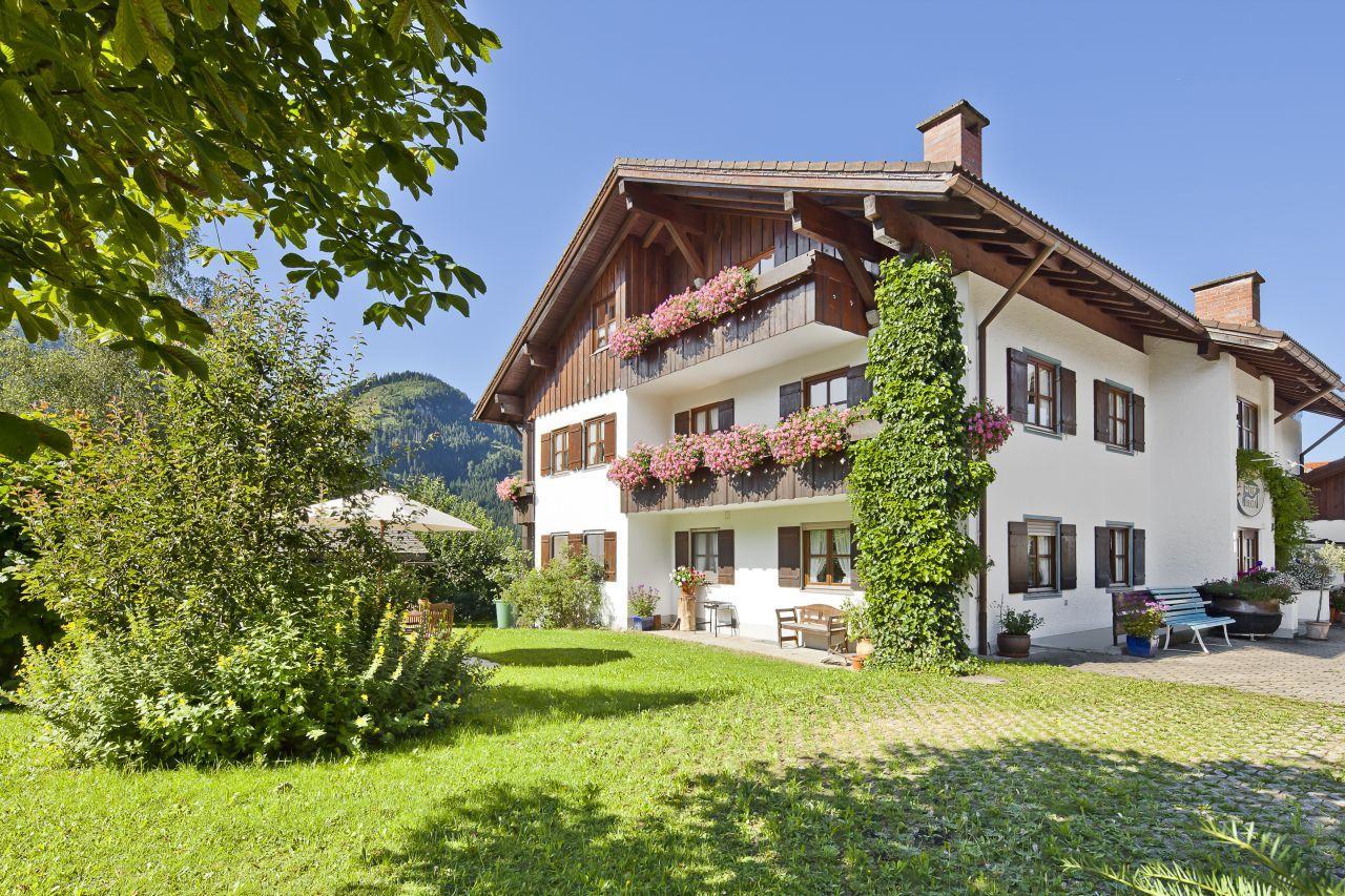 Landhaus Via Decia Fewo Nagelfluh Ferienwohnung im Allgäu