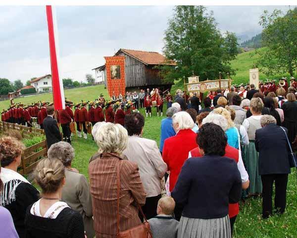 Maria Himmelfahrt-Prozession
