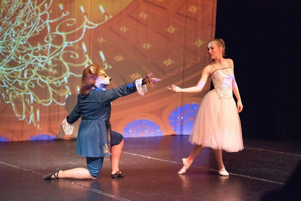 Die Schöne und das Biest - Tanzmärchen für Kinder ab 4