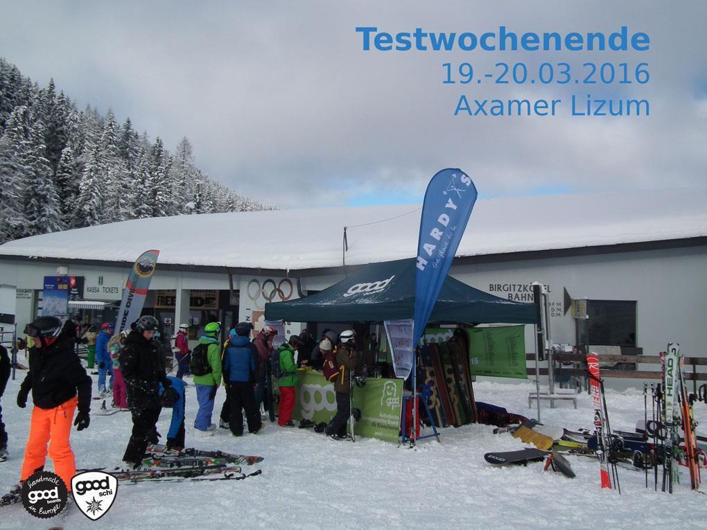 GOODboards + Ski Testival