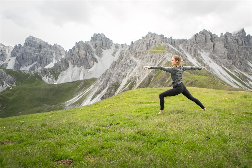 Yoga auf 2340m - Axamer Lizum