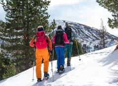Schneeschuhwanderung in den Nockbergen