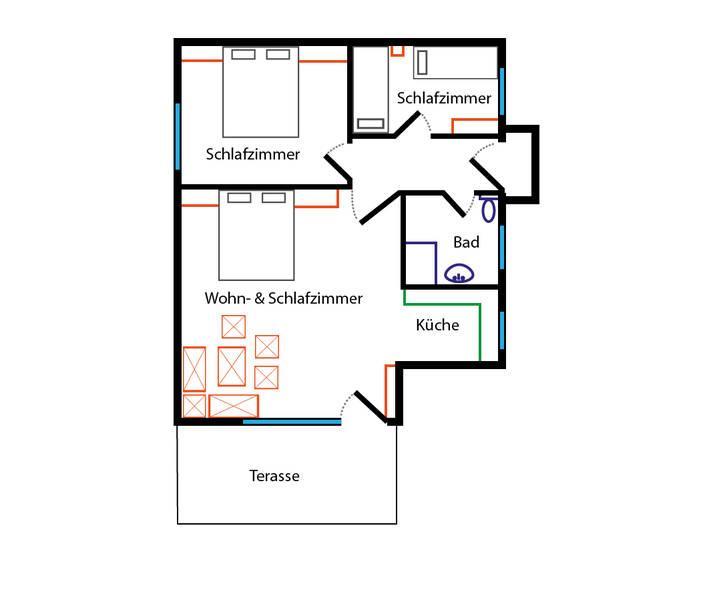 Appartement de vacances Seeapartments Kärnten Appartement 2,3 (2372098), Bodensdorf, Lac Ossiach, Carinthie, Autriche, image 35