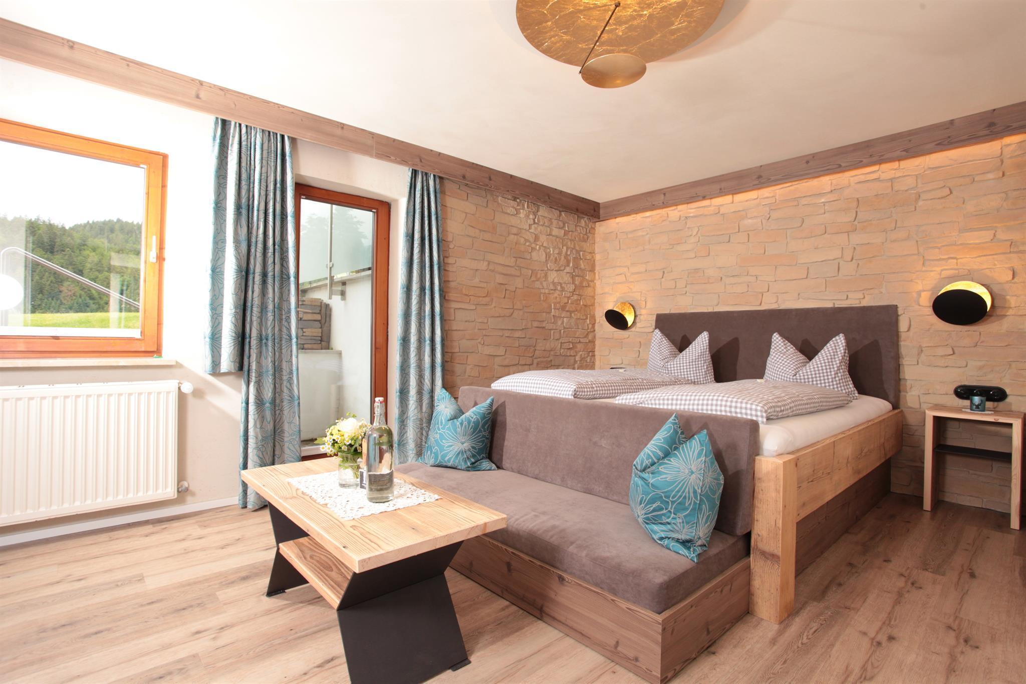 Ferienwohnung Landhaus Bromm Apartment/2 Schlafraum/Dusche, WC,