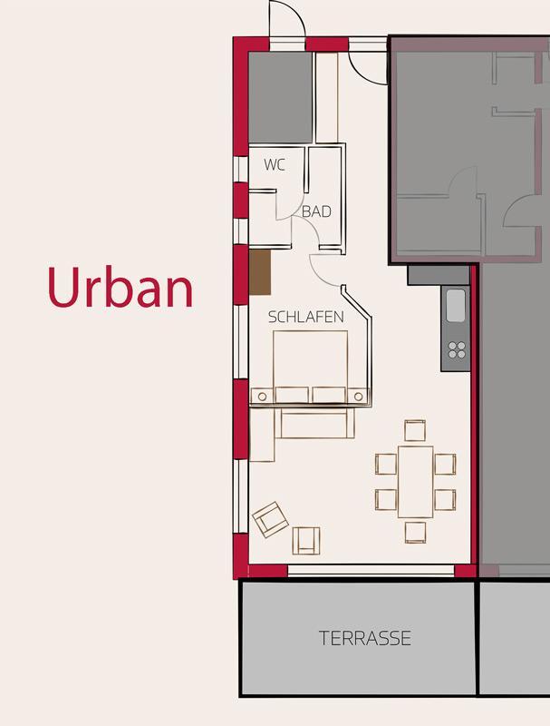 Appartement de vacances Gastler Chalet App./Fewo 3 Urban, Dusche, WC, 1 Schlafraum (2186393), Riezlern (AT), Kleinwalsertal, Vorarlberg, Autriche, image 14