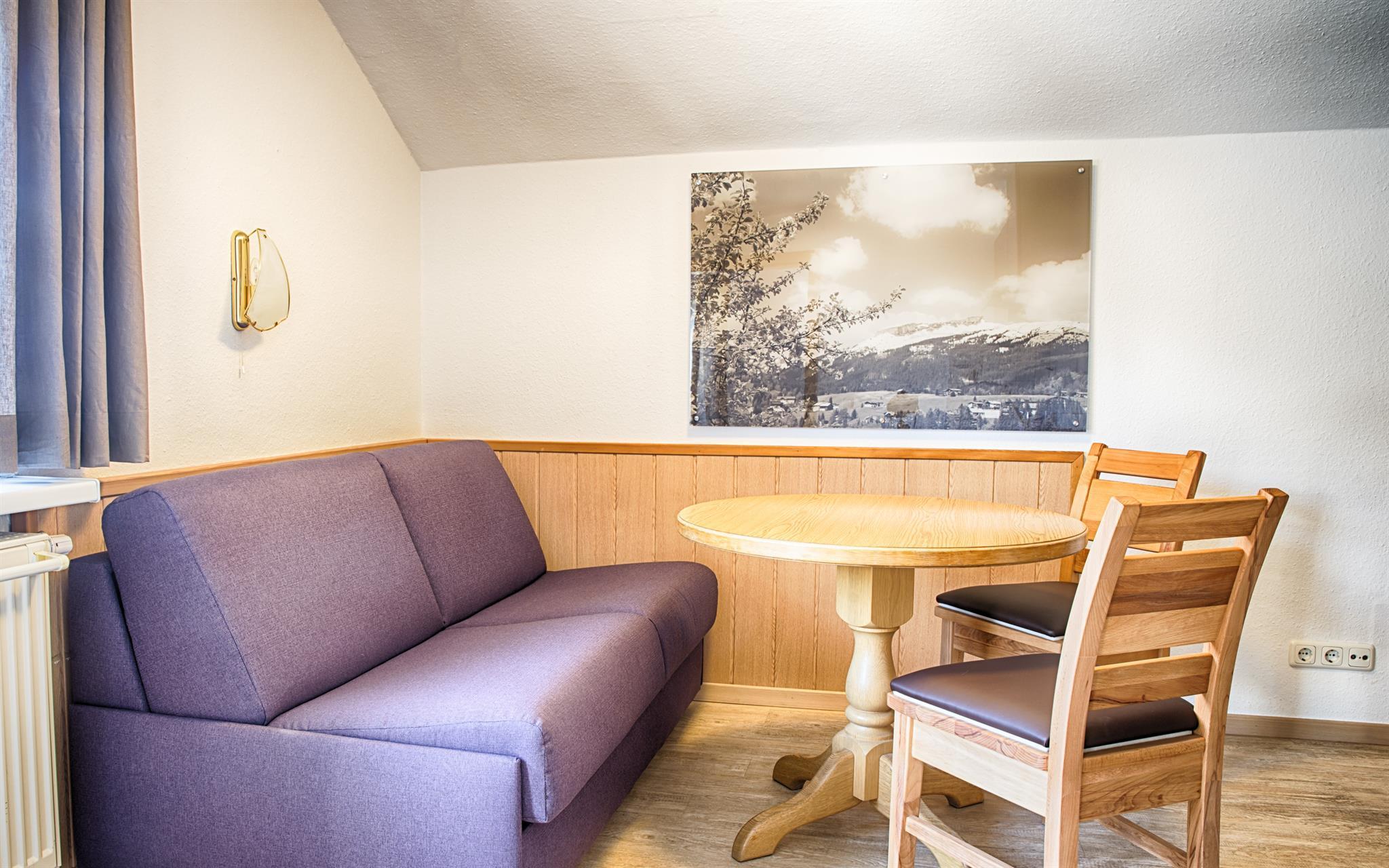 Ferienwohnung Haus Himmelreich -   Frau Carola Link Typ - Auszeit - 1 Schlafraum Du/WC (637710), Hirschegg, Kleinwalsertal, Vorarlberg, Österreich, Bild 11