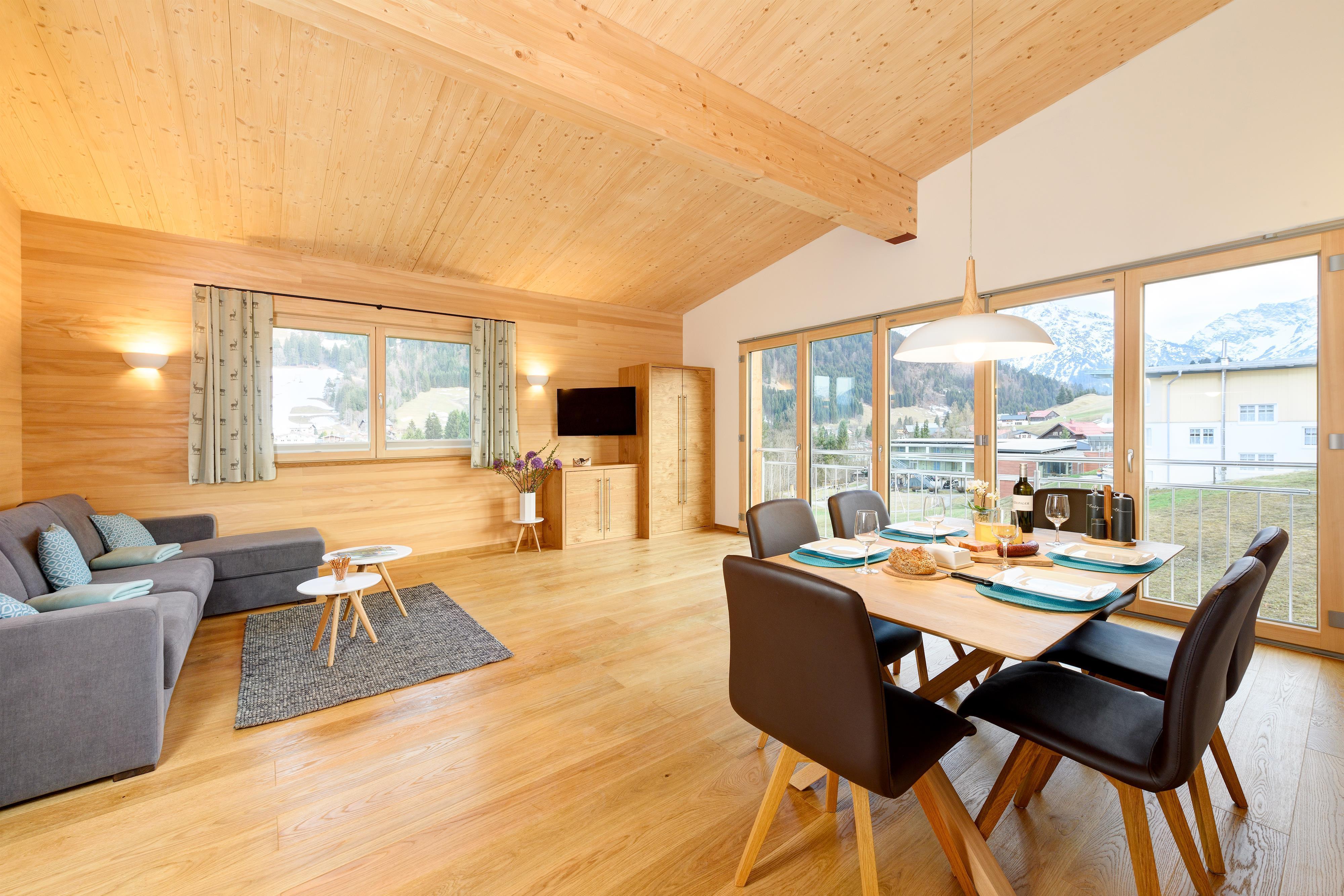 Appartement de vacances Gastler Chalet App./Fewo 1 Cristen , Dusche, WC, 2 Schlafräume (2186392), Riezlern (AT), Kleinwalsertal, Vorarlberg, Autriche, image 1