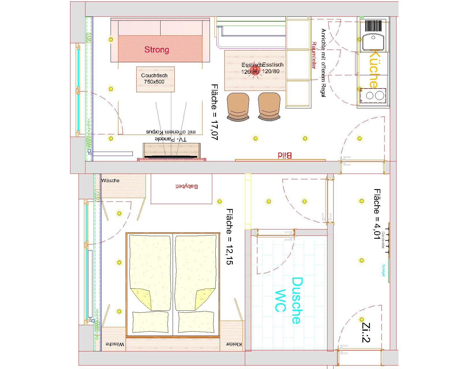 Ferienwohnung Gästehaus Boersch - Familie Jochum Apartment/Südterrasse/Dusche/WC (2) (1483184), Riezlern (AT), Kleinwalsertal, Vorarlberg, Österreich, Bild 28