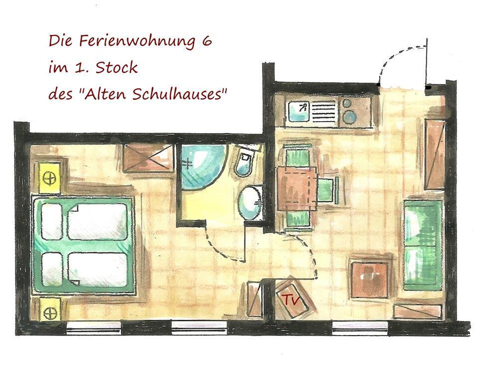 Ferienwohnung Altes Schulhaus Ferienwohnung 6 (1964955), Bad Schwartau, Schleswig-Holstein Binnenland, Schleswig-Holstein, Deutschland, Bild 18