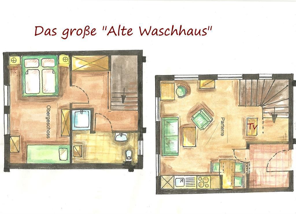 Ferienwohnung Kirsten-Ferienwohnungen Das ,,Große Alte Waschhaus