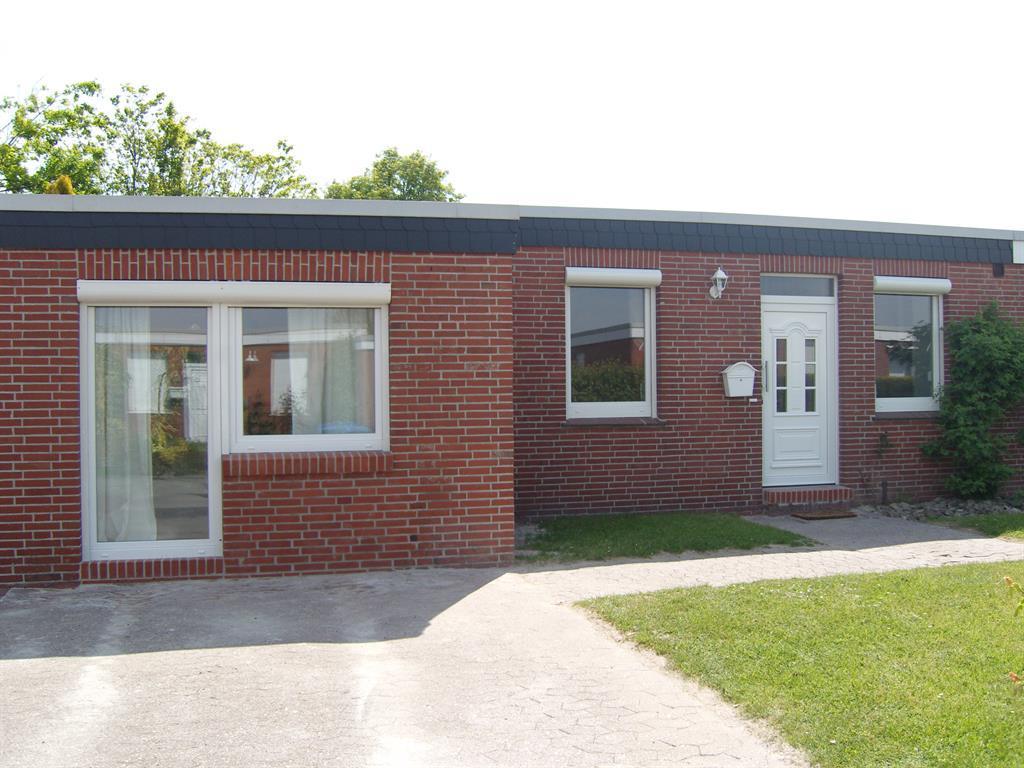 Bungalow Bettina Ferienhaus, Dusche/WC, 3 Schlafr& Ferienhaus in Ostfriesland