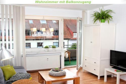 Holiday apartment Teilzeitheimat, Ferienwohnungen Fewo Lichtblick, Bad, WC, 1 SR /2.OG (1663855), Osnabrück, Osnabrucker Land, Lower Saxony, Germany, picture 2