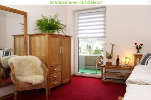 Holiday apartment Teilzeitheimat, Ferienwohnungen Fewo Lichtblick, Bad, WC, 1 SR /2.OG (1663855), Osnabrück, Osnabrucker Land, Lower Saxony, Germany, picture 3