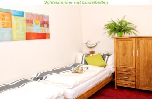 Holiday apartment Teilzeitheimat, Ferienwohnungen Fewo Lichtblick, Bad, WC, 1 SR /2.OG (1663855), Osnabrück, Osnabrucker Land, Lower Saxony, Germany, picture 4