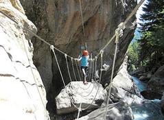 Klettersteig Osttirol : Osttirol fun klettersteig pirkner klamm