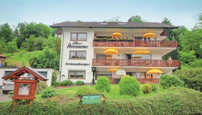 Ferienwohnungen Haus Panorama 2-Bettwohnung (Typ A Ferienwohnung  Eifel in NRW