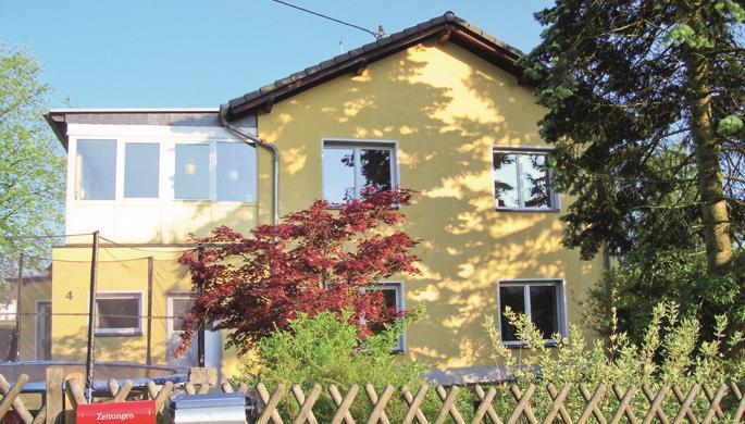 Ferienhaus Münch (Gartenansicht)