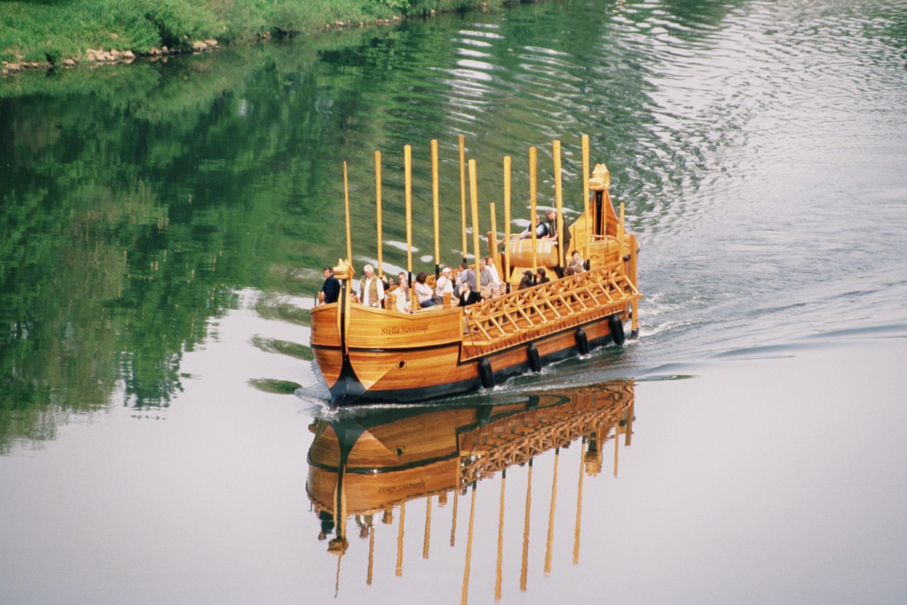 Foto: Mittwochsfahrt mit dem Römischen Weinschiff 2021