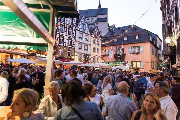Heimat- und Weinfest, Marktplatz