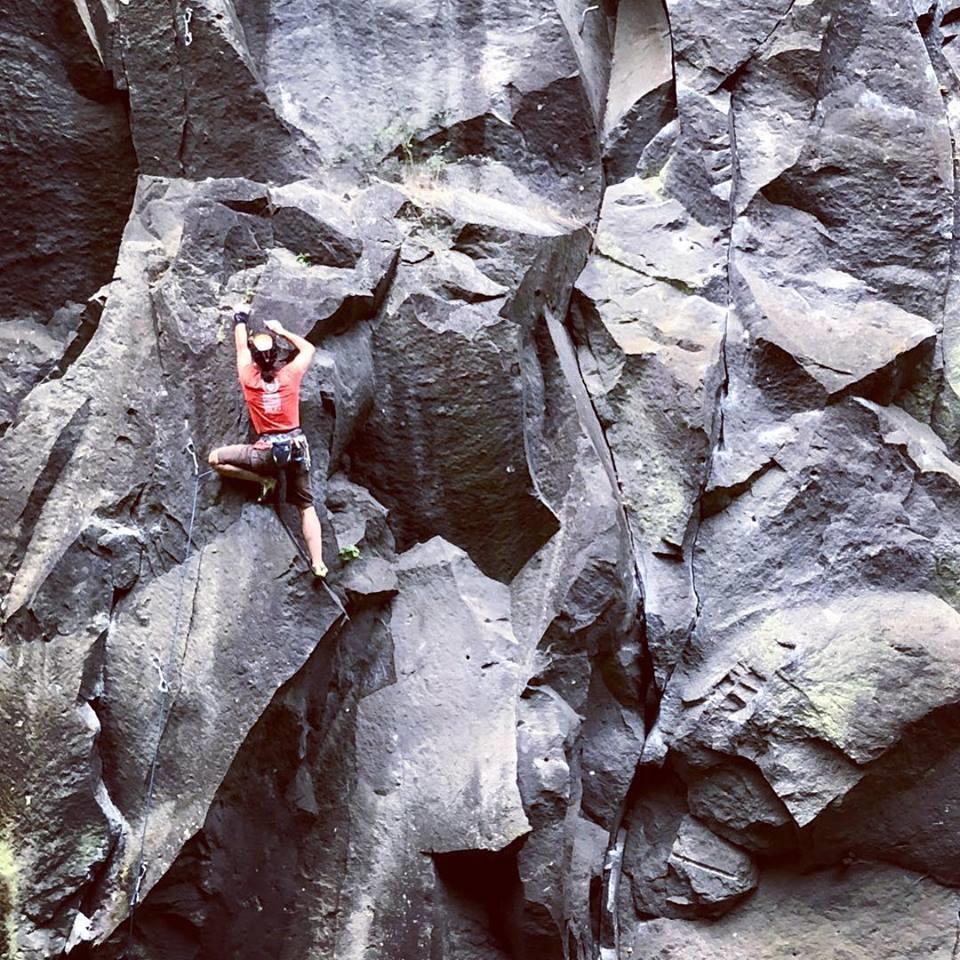 Felsklettern für Einsteiger, @ Hendrik Kardinal