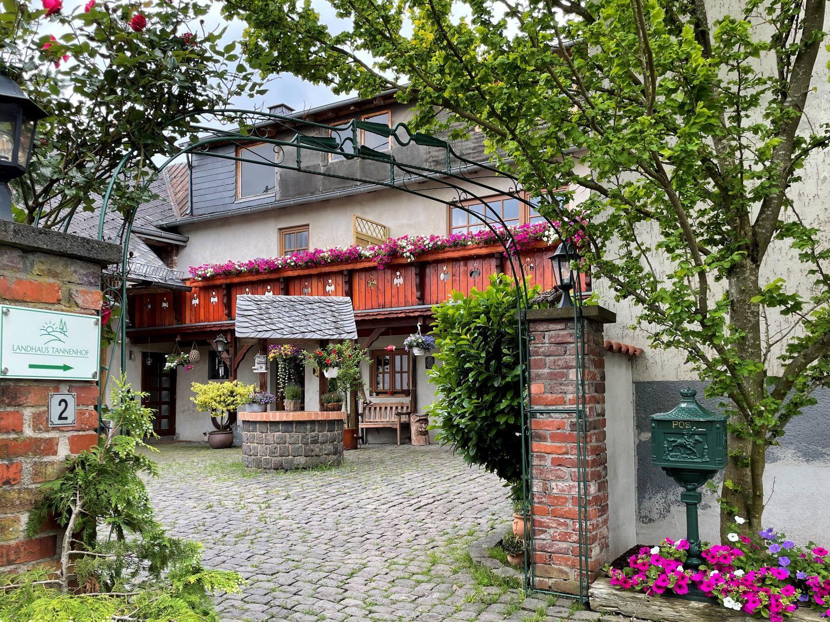 Innenhof Neu