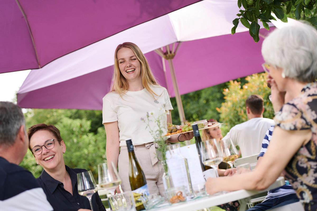 Weingarten im Weingut Gebert