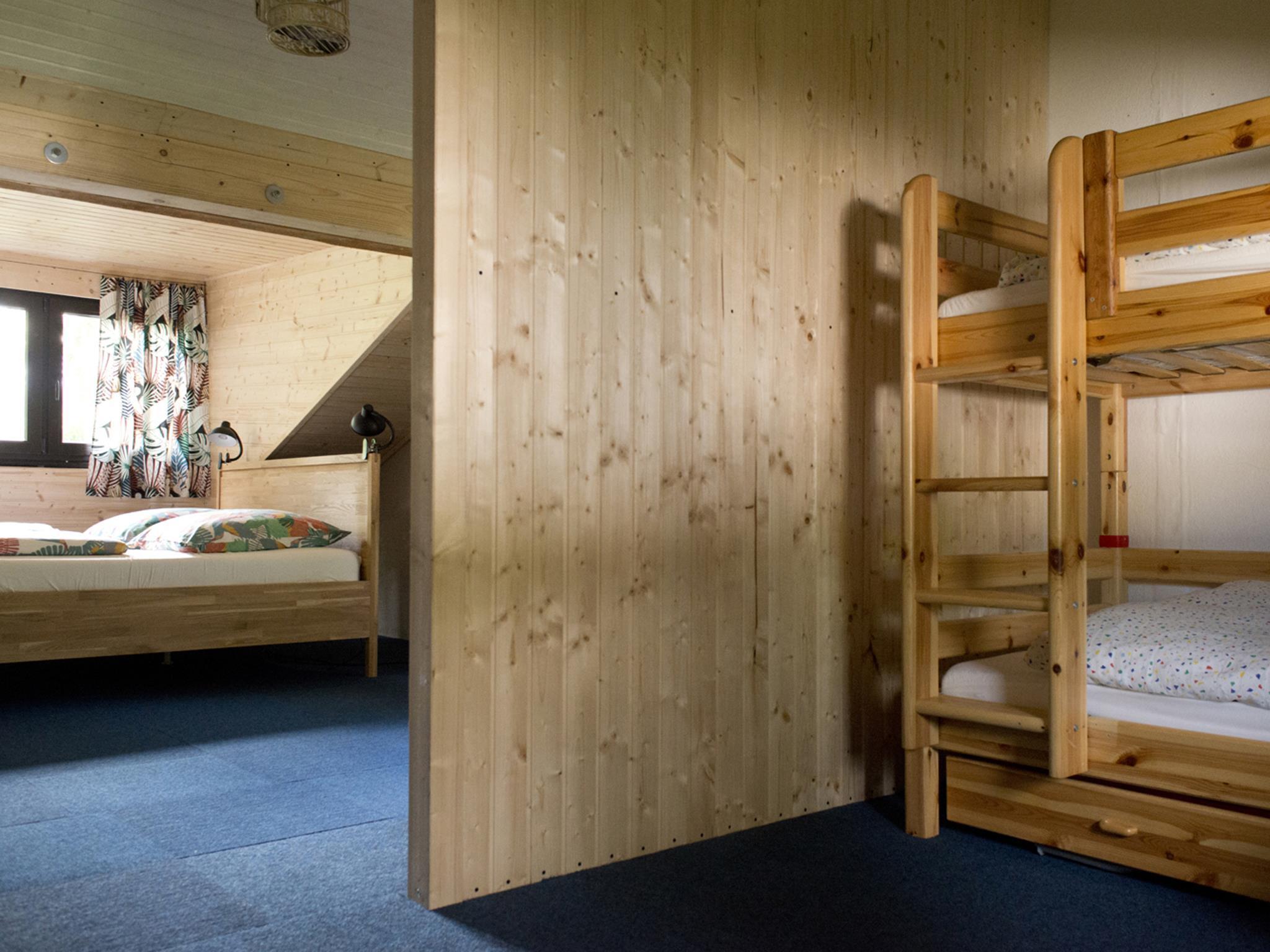 Schlafzimmer mit Zimmernische