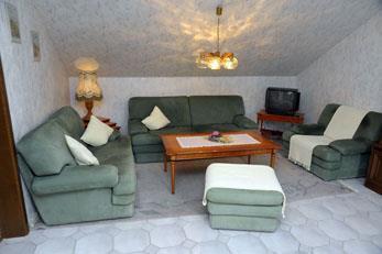 Ferienwohnung Naumann 4-Bett-Mansardenwohnung Ferienwohnung in der Eifel