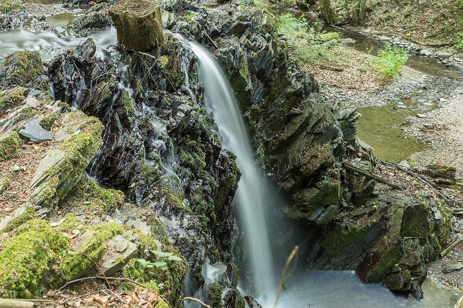Wasserfall an der Mühle