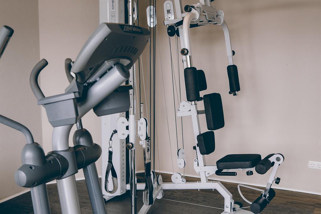 Hauseigene Fitnessbereich