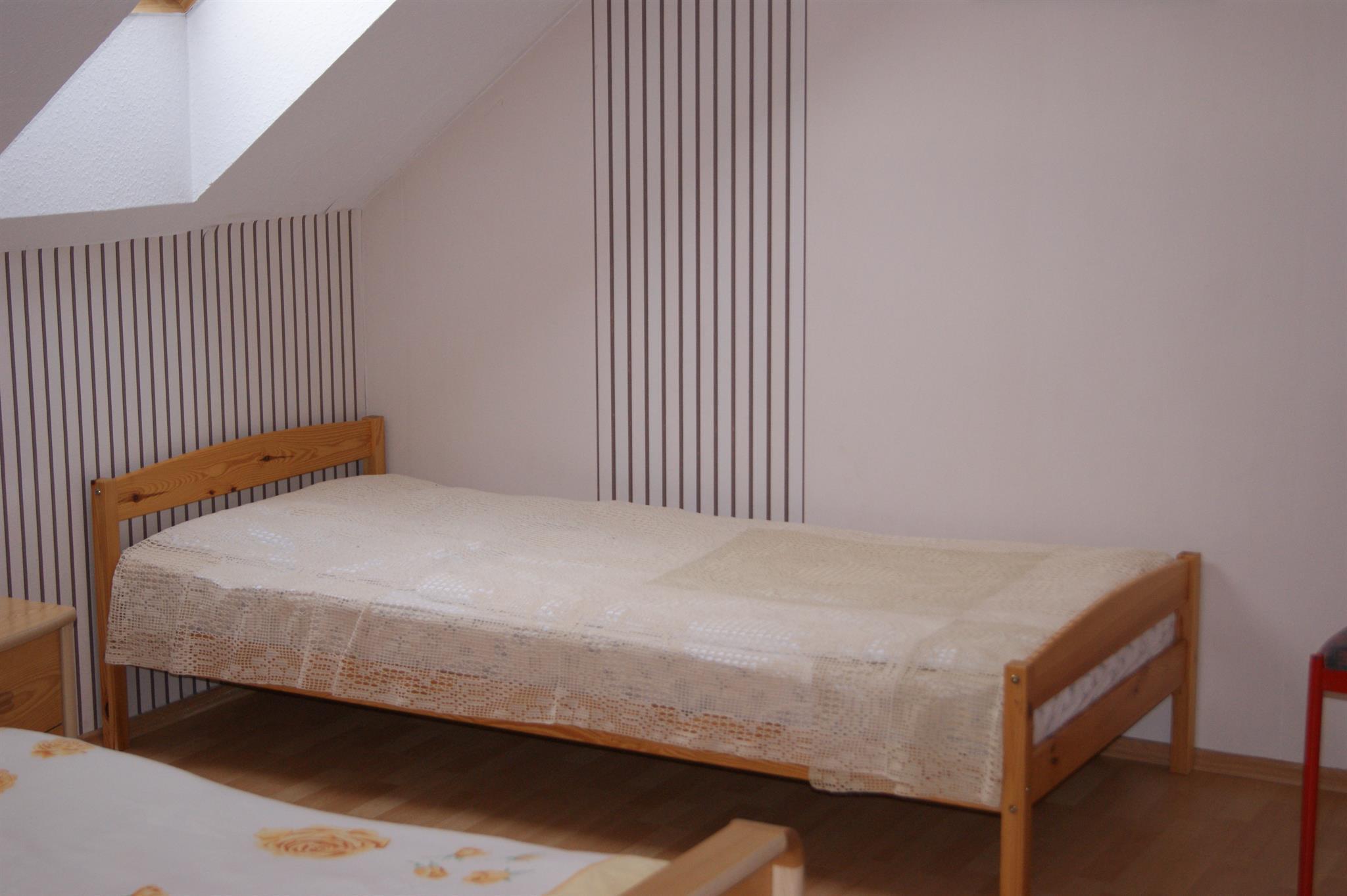 Einzelbett Dachgeschoss