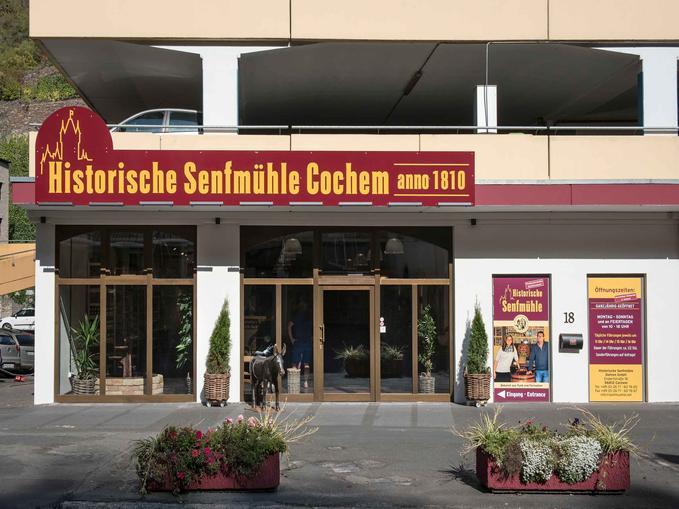 Außenansicht Cochemer Senfmühle, @ Senfmühle Cochem