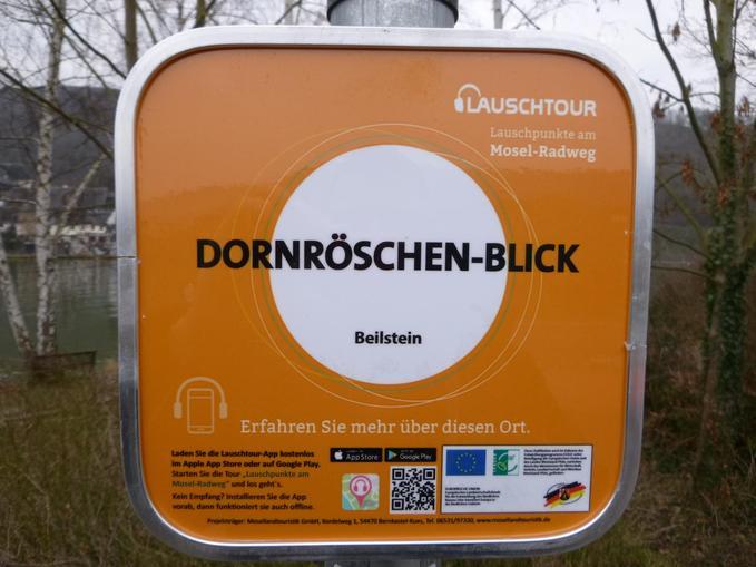 Lauschpunkt gegenüber Beilstein, @ Michael Teusch, Sweco GmbH