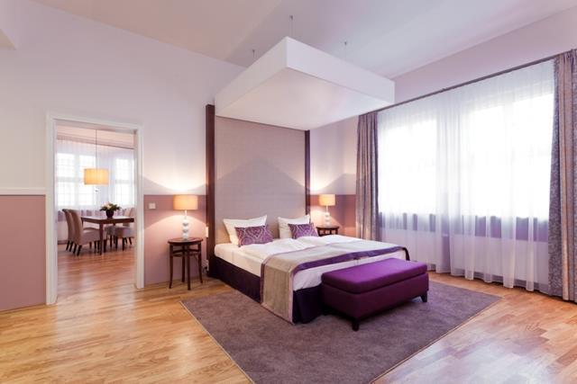 Foto Apartment Am Schloss Schlafzimmer