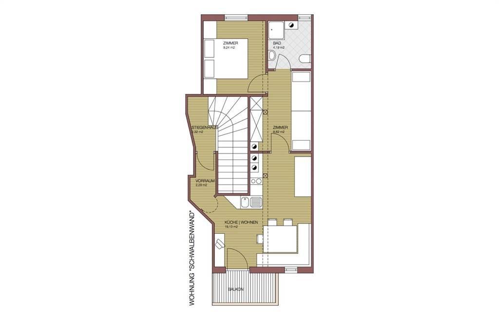 Holiday apartment Oberhaslinghof Apartment/2 Schlafräume/Dusche, WC (1916155), Saalfelden am Steinernen Meer, Pinzgau, Salzburg, Austria, picture 38