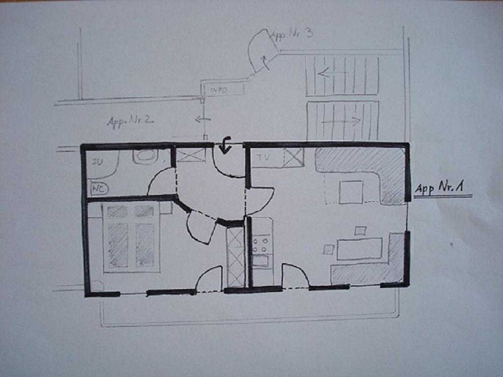 Ferienwohnung Pichler, Maxgut Apartment Nr.1/1 Schlafraum/Dusche, WC (1916341), Mariapfarr, Lungau, Salzburg, Österreich, Bild 18