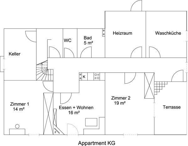 Appartement de vacances Oberhaslach, Ferienwohnung Apartment/2 Schlafräume/Dusche, WC (1915948), Abtenau, Tennengau, Salzbourg, Autriche, image 11