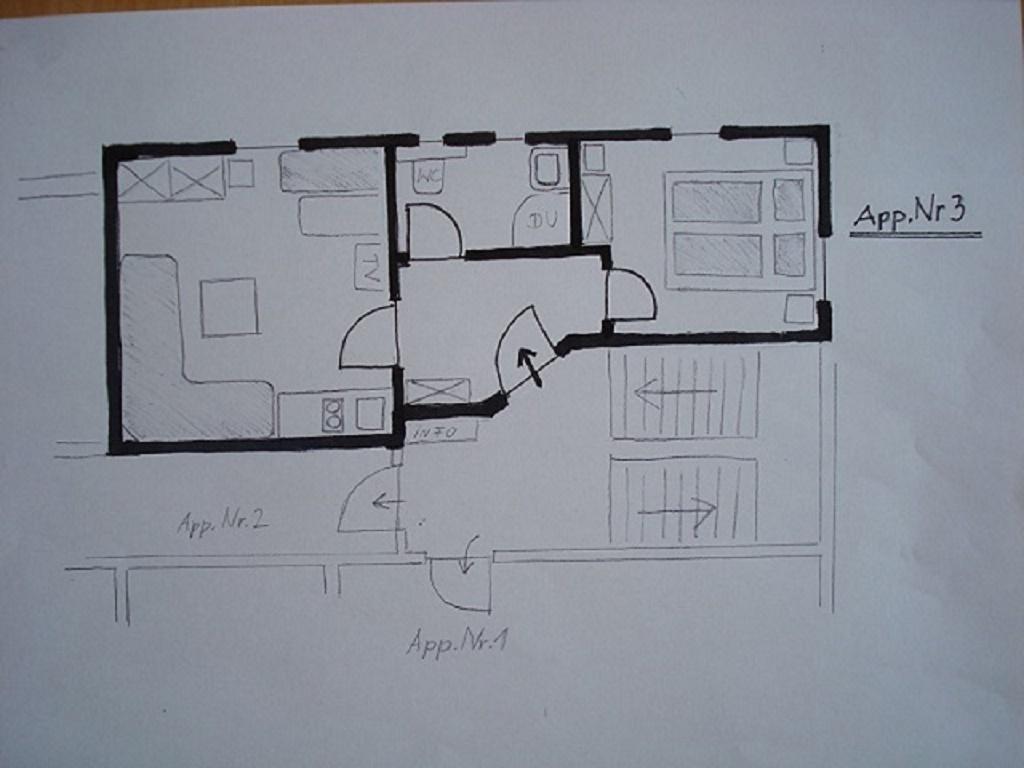 Ferienwohnung Pichler, Maxgut Apartment Nr.3/1 Schlafraum/Dusche, WC (1916363), Mariapfarr, Lungau, Salzburg, Österreich, Bild 17