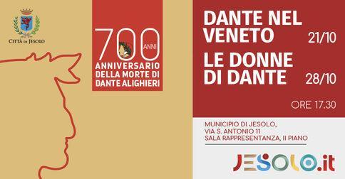 Incontri per i 700 anni dalla morte di Dante