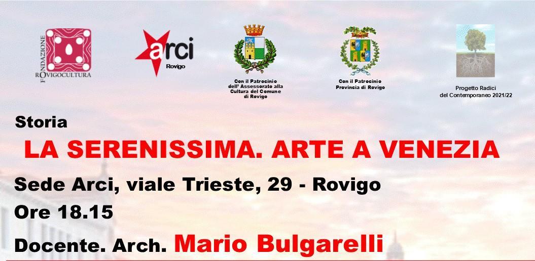 La Serenissima. Arte a Venezia