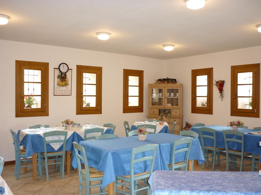 Sala da pranzo Malga Valfontane