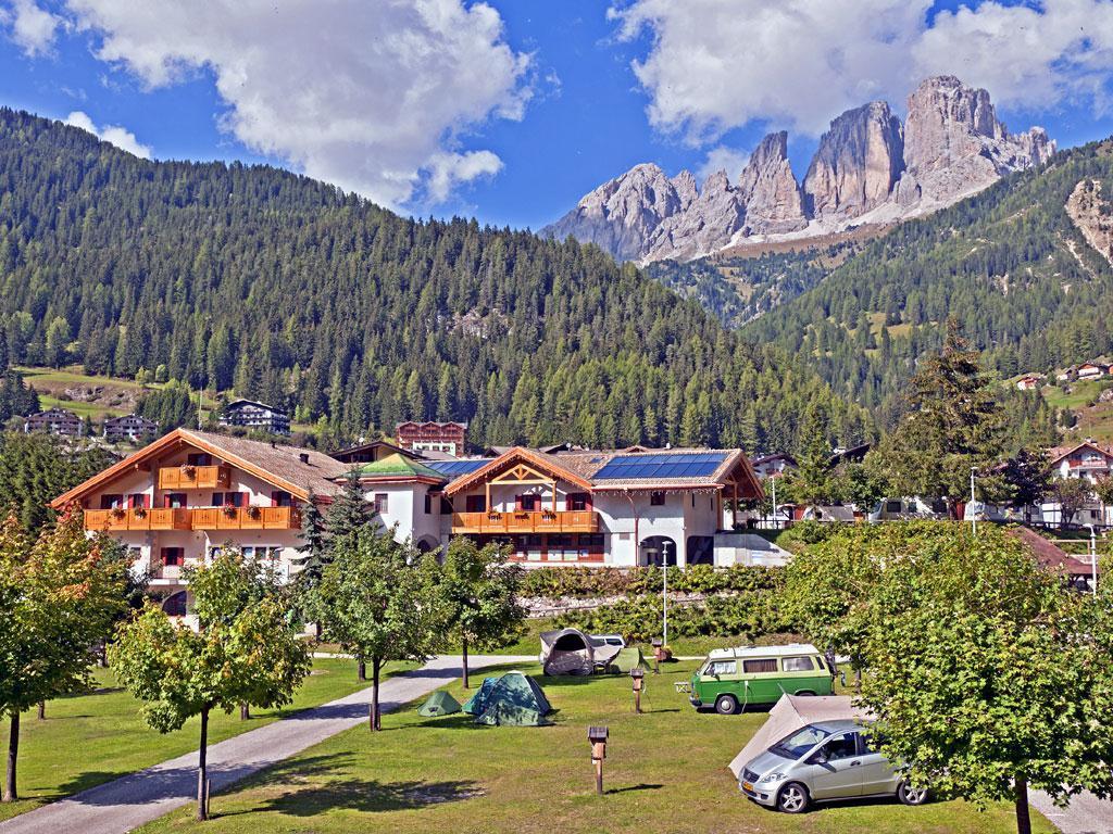 Campsite Miravalle Campitello di Fassa Val di Fassa Trentino