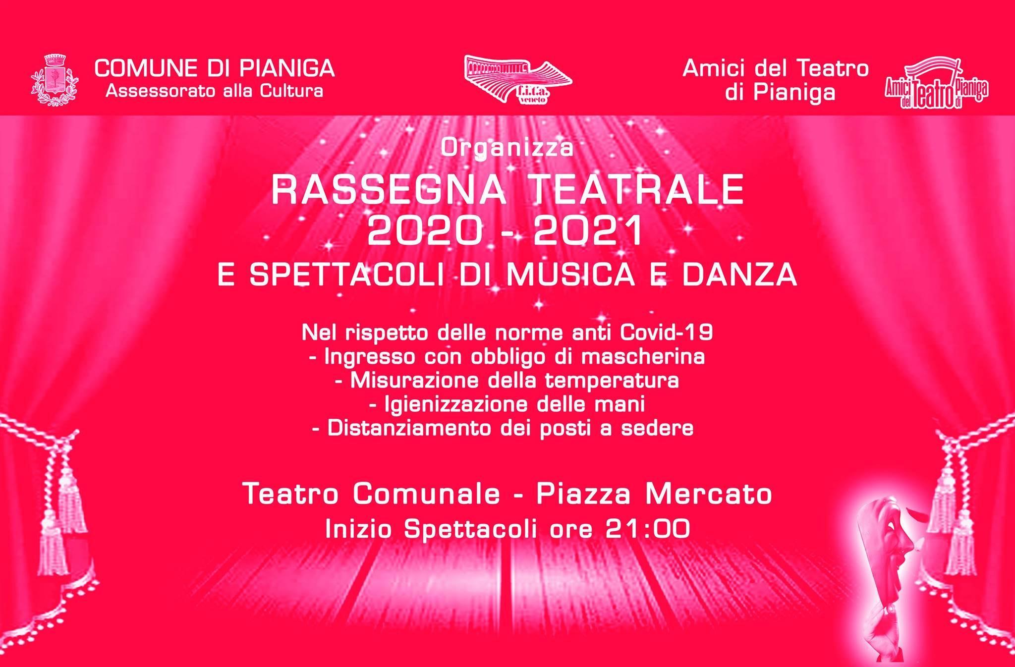 Rassegna Teatrale 2020-2021 Pianiga