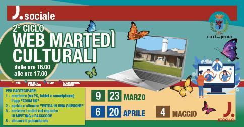2° ciclo Web martedì culturali al Centro Pertini