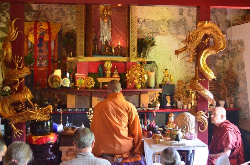 tempio buddista Cinte Tesino