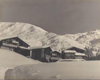 Geislerhöfe im Winter