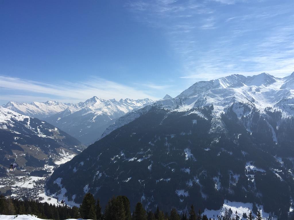Blick nach Mayrhofen